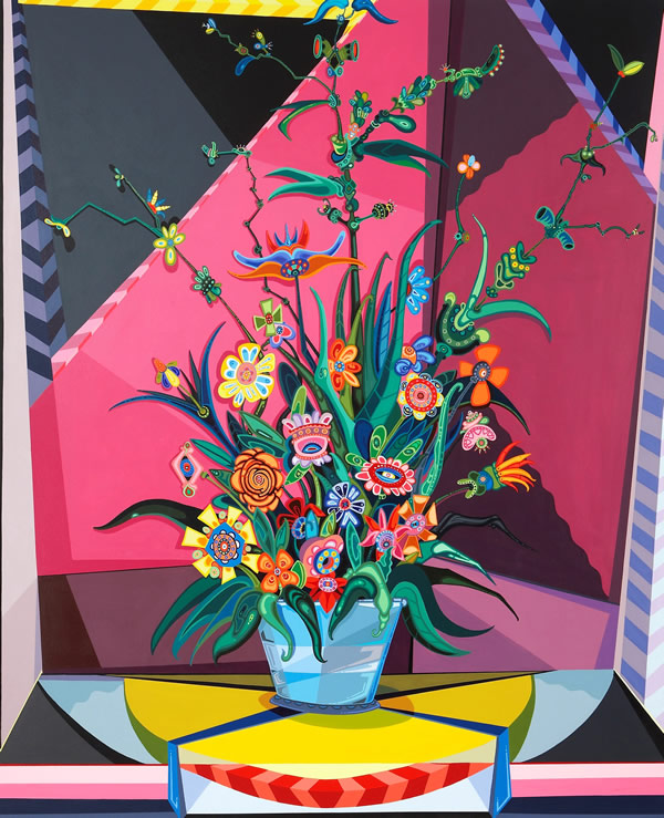 Erik Parker, Late Bloomer, 2010