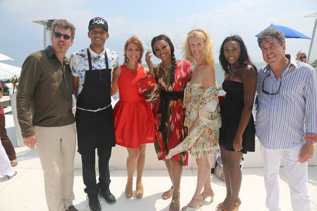 Simon Van Kemp, Roble Ali, Jill Zarin, Cynthia Bailey, Alex McCord, Noelle Roboinson, Dr. Ronald Blatt Photo Credit: Johnny Nunez